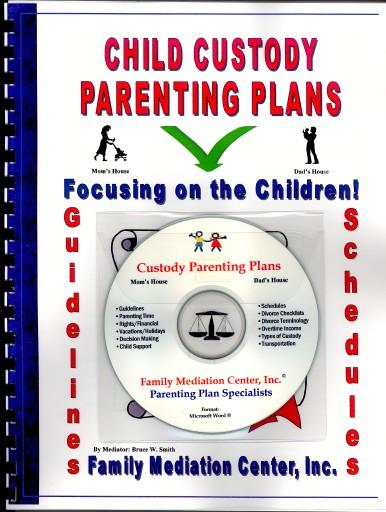 Child Custody Parenting Plans